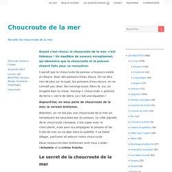 Choucroute de la mer – Cuisine à l'ouest
