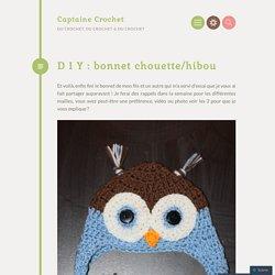 D I Y : bonnet chouette/hibou