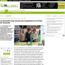 La Chouette coop recrute ses coopérateurs à la Foire de Toulouse