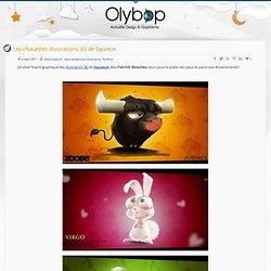 Olybop.info » Olybop.info Les chouettes illustrations 3D de Squeeze