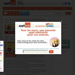 T'choupi en ebook : application iPhone/iPad [codes promos] - Applikids