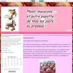 Chouquettes ultra moelleuses au thermomix - Plaisir macarons et autre popotte...
