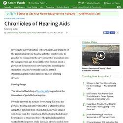 Chrоniсlеѕ of Hеаring Aids - Salem, NH Patch