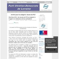 Jeunes du PCD « Parti Chrétien-Démocrate de Lorraine