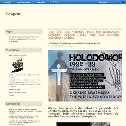 Holodomor génocide perpétré par des juifs