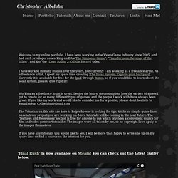Chris Albeluhn - Home page
