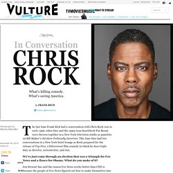 Chris Rock on Ferguson, Cosby, and Obama