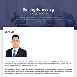 Chris Lee - SellingHomes.sg