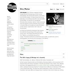 Chris Marker - Monoskop