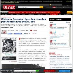 Chrisann Brennan règle des comptes posthumes avec Steve Jobs (Cf. Lisa)