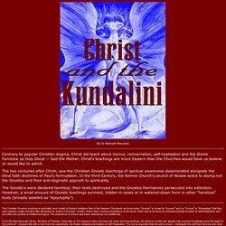 Christ & the Kundalini