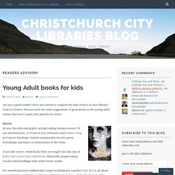 readers advisory – Christchurch City Libraries Blog