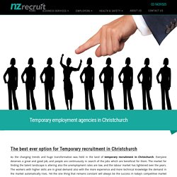 Temporary Employment Agencies Christchurch