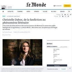 Christelle Dabos, de la fanfiction au phénomène littéraire