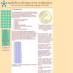 Symbols in Christian Art & Architecture: Free Symbol Patterns