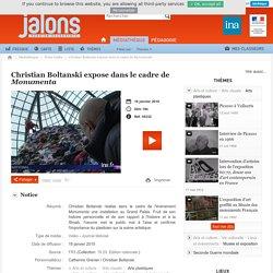 Christian Boltanski expose dans le cadre de Monumenta