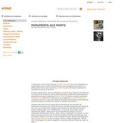 Christian Boltanski au Grand Palais dans le cadre de Monumenta