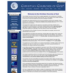 Christian Churches of God World Conference