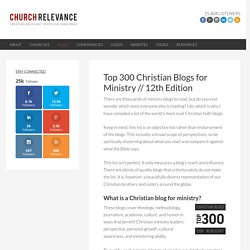 Top 200 Church Blogs | churchrelevance