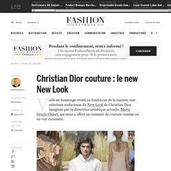 Christian Dior couture : le new New Look - Actualité : defiles (#846228)