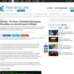 Musique : concert pour le Népal le 24 à Nantes