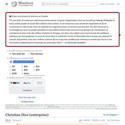 Christian Dior (entreprise)