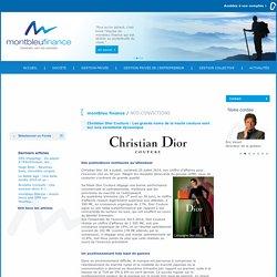Christian Dior Couture : Les grands noms de la haute couture sont sur une excellente dynamique