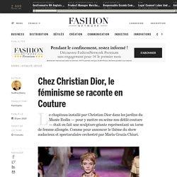 Chez Christian Dior, le féminisme se raconte en Couture - Actualité : defiles (#1177479)