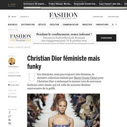 Christian Dior féministe mais funky - Actualité : defiles (#873287)