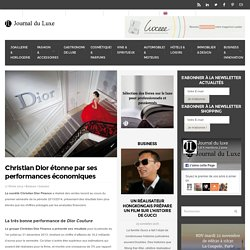 Christian Dior Finance : un bilan satisfaisant