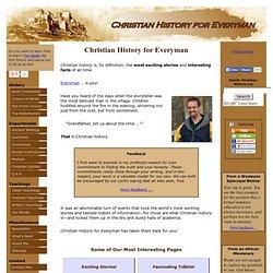 Christian History for Everyman