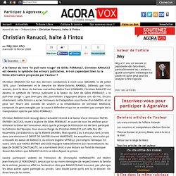Christian Ranucci, halte à l'intox