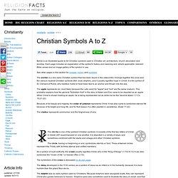 Christian Symbols A to Z