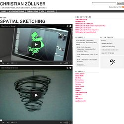 Christian Zöllner » Spatial Sketching