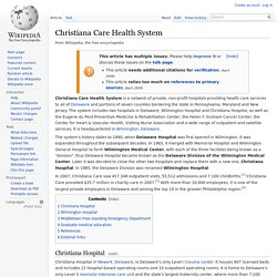 Christiana Care Health System