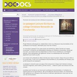 Le passeport Lecture/Ecriture - DOC POUR DOC