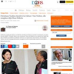Christiane Taubira bientôt à la Culture ? Sur Twitter, elle remplace déjà Fleur Pellerin