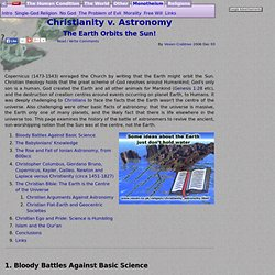 Christianity versus Astronomy: The Earth orbits the Sun!