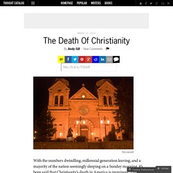 The Death Of Christianity