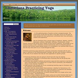 Christians Practicing Yoga | Yoga from a Christian Perspective