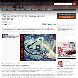 The Economy Evolves, Chris Christie Devolves