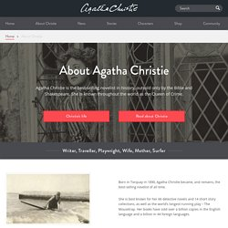 Discover More About Agatha Christie