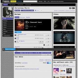 Christina Perri - MySpace