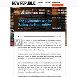 Christina Paxson, President of Brown: Humanities Can Save Us