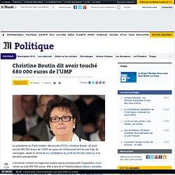 Christine Boutin dit avoir touché 680 000 euros de l'UMP