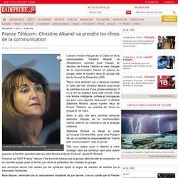 France Télécom: Christine Albanel va prendre les rênes de la com