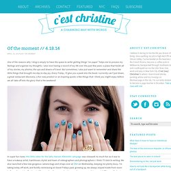 C'est Christine — California Girl / French Riviera