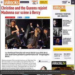 Christine and the Queens rejoint Madonna sur scène à Bercy