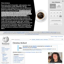Christine Rollard