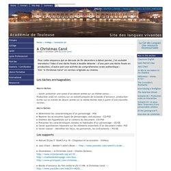 A Christmas Carol - [English website of the Académie de Toulouse]